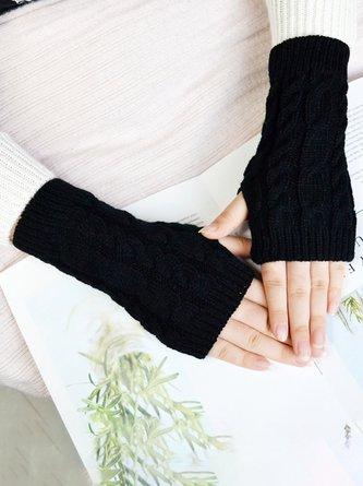 Warme Gestrickte Handschuhe für Winter